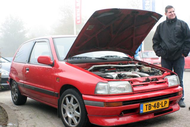 Daihatsu Cuore twin cam 12 valve EFI turbo