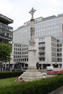 The Memorial to St Peter's Church, Peter's Square, Manchester