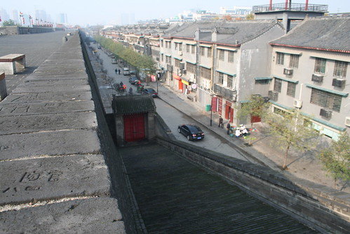2011-11-18 - Xian - City wall - 18 - Ring wall - Closed Wumu gate
