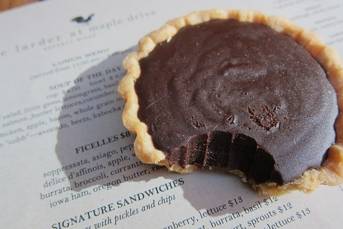 The Larder at Maple Drive: Chocolate Caramel Tart