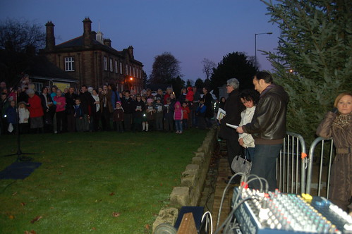 Whickham Xmas lights switch on Nov 11 5