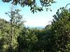 Reconnaissance par Valle Maggiore : trouée dans la forêt vers PortiVechju au-delà de l'ancien captage