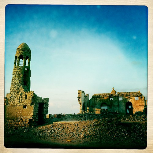 Zeila mosque thru Iphone Hipstamatic - Somaliland by Eric Lafforgue
