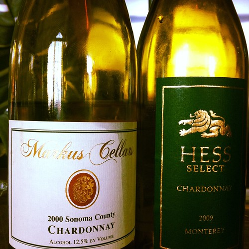 The inevitable Chardonnay course