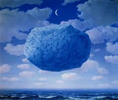René Magritte, La Flèche de Zénon (1964).