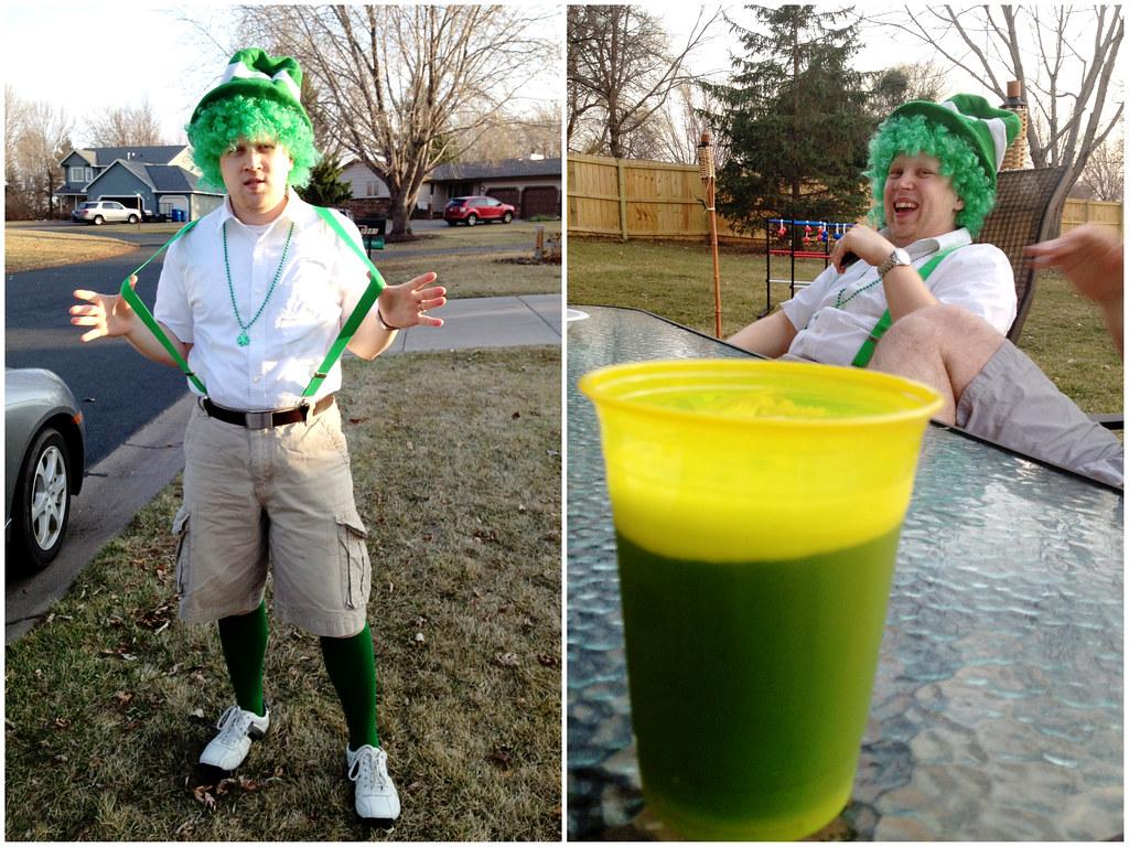 Green Beer & Patrick