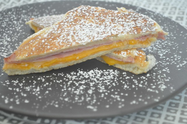 Pressed Mallorca with Ham and Cheese