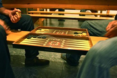 I love backgammon!