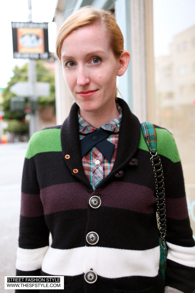 catie2 catie cuffington, dronning vintage, san francisco, street fashion style,