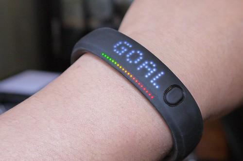 GOAL! Nike+ FuelBand