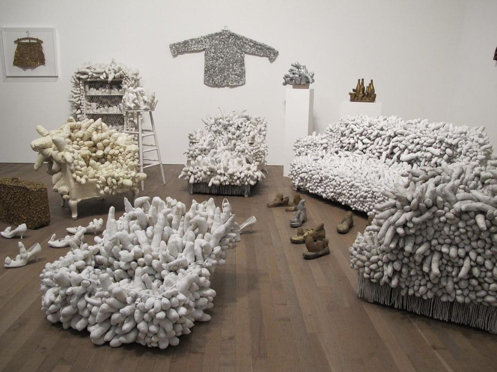 Yayoi Kusama room at Tate Modern