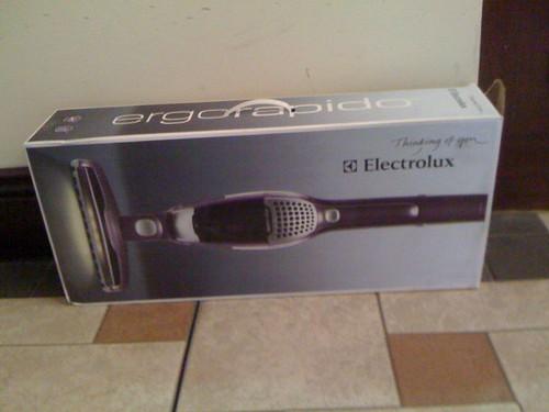 Electrolux power razor