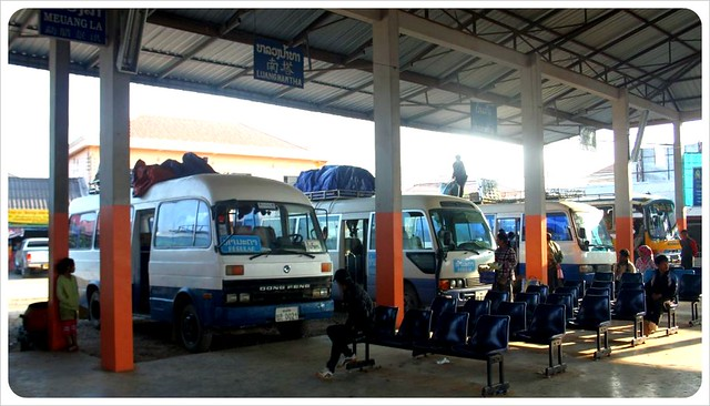 laos bus station