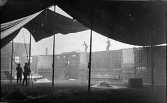 Fairground workers