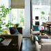 Michael Graydon / House and Home {white rustic modern living room}