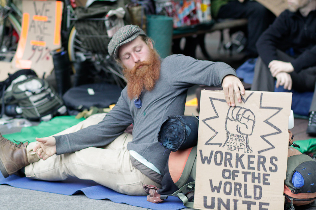occupy seattle - workers of the world