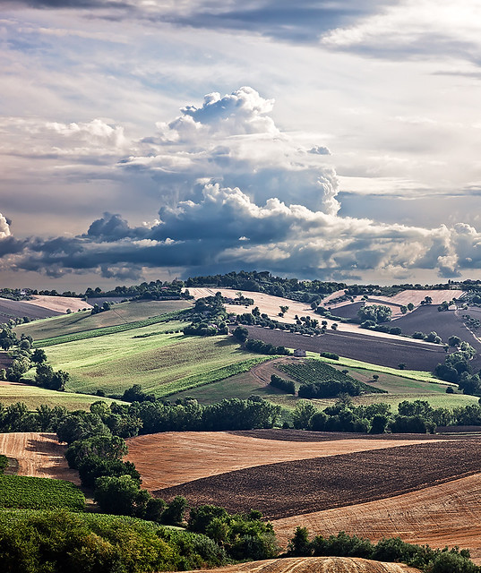 Landscape Italy Summers Colors