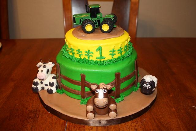 Birthday Cake Images John : John Deere 1st birthday cake Flickr - Photo Sharing!