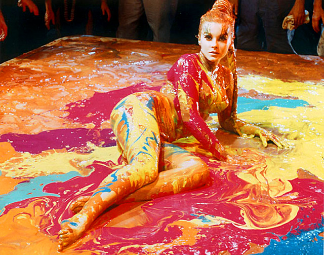 1966 ... Ann Margret as paintbrush!