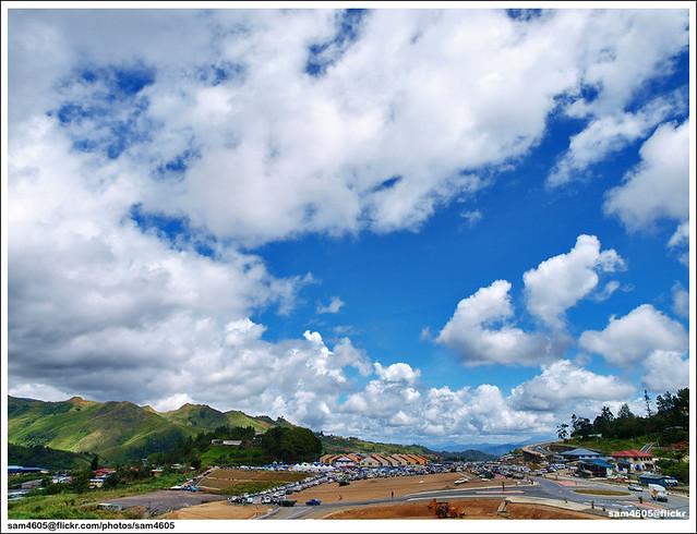 Kundasang new landscape