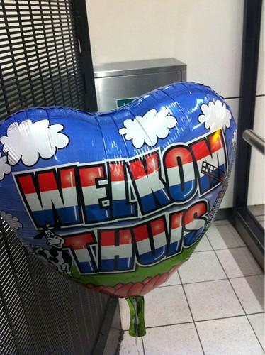 Diverse Folieballonnen Welkom Thuis