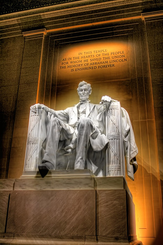Washington D.C. - Lincoln Memorial Abraham Lincoln 02