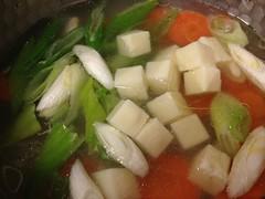 vegetable, food, dish, soup, cuisine, leek,