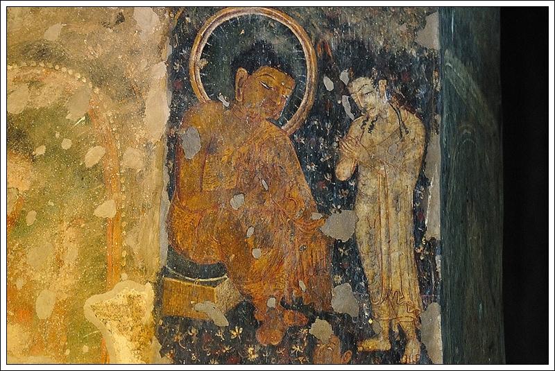 1石柱上的壁畫