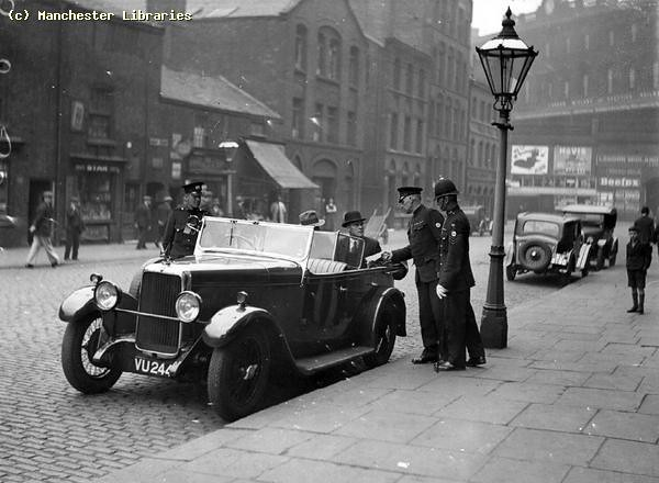 Whitworth Street, Looking to London Road, 1930