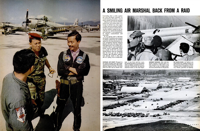 LIFE Feb 26, 1965 (3) - A smiling Air Marshal back from a raid