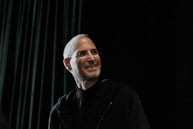 Steve Jobs at iPad announcement 2010
