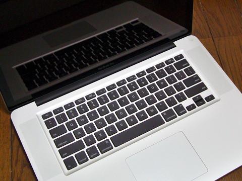 Unibody の MacBook Pro が届いた