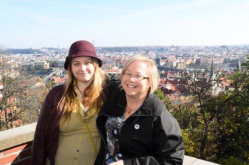 Liz, Cathie, Old Royal Palace