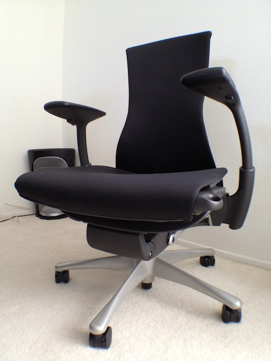 the herman miller embody the ultimate office chair for bloggers john chow dot com. Black Bedroom Furniture Sets. Home Design Ideas