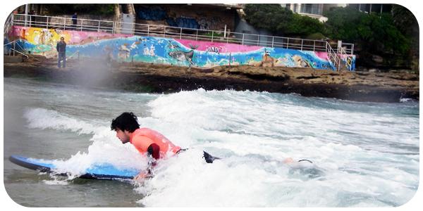 YM paddling