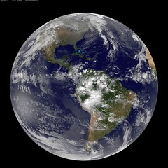 Satellite View of Earth on 11.11.11