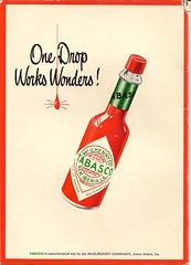 Tabasco recipe booklet back cover