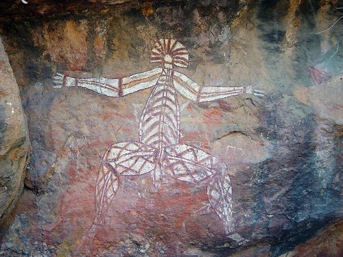 Kakadu Nourlange rock art 15-07-2002