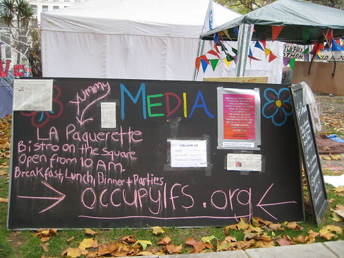 Media - Occupy London - Finsbury Square - Real Democracy Now