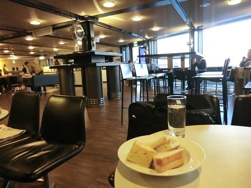 Swiss international air lounge @ Zurich airport in Switzerland