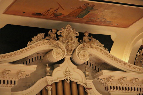 Detail of Organ Woodwork