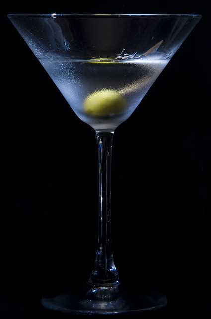 Again, a dry martini has very little vermouth, and an extra-dry martini—also described as bone dry or desert martini—usually has no vermouth. When making an extra-dry martini, some bartenders leave the cap on the vermouth and symbolically pour it over the drink.