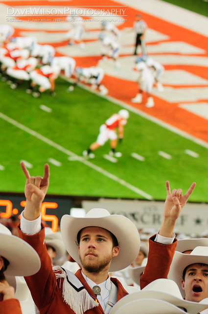 Horns on the 1 Yard Line