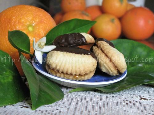 Dessert con marmellata di arance amare 2