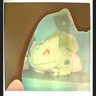 Bulbasaur Fail. Pola OneStep w pola 779 expired Color film