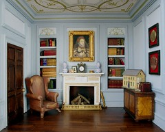 The Blue Room...with dollshouse