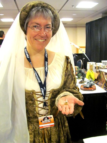Vendor Jo-Ann Shaw at Hal-Con 2011