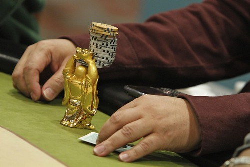 4996 Buddha Holds Chips For Allan Deguino