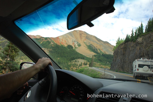 Driving the Million Dollar Highway