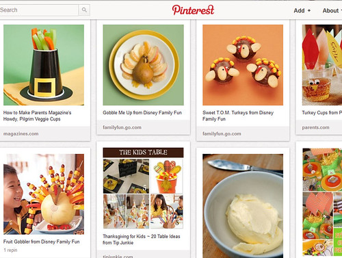Pinterest - Kids' Thanksgiving Activities - Food